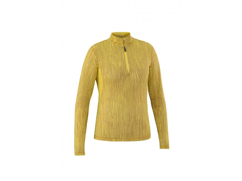 Rolák Mountain Force BLOSSOM SHIRT, yellow stripe