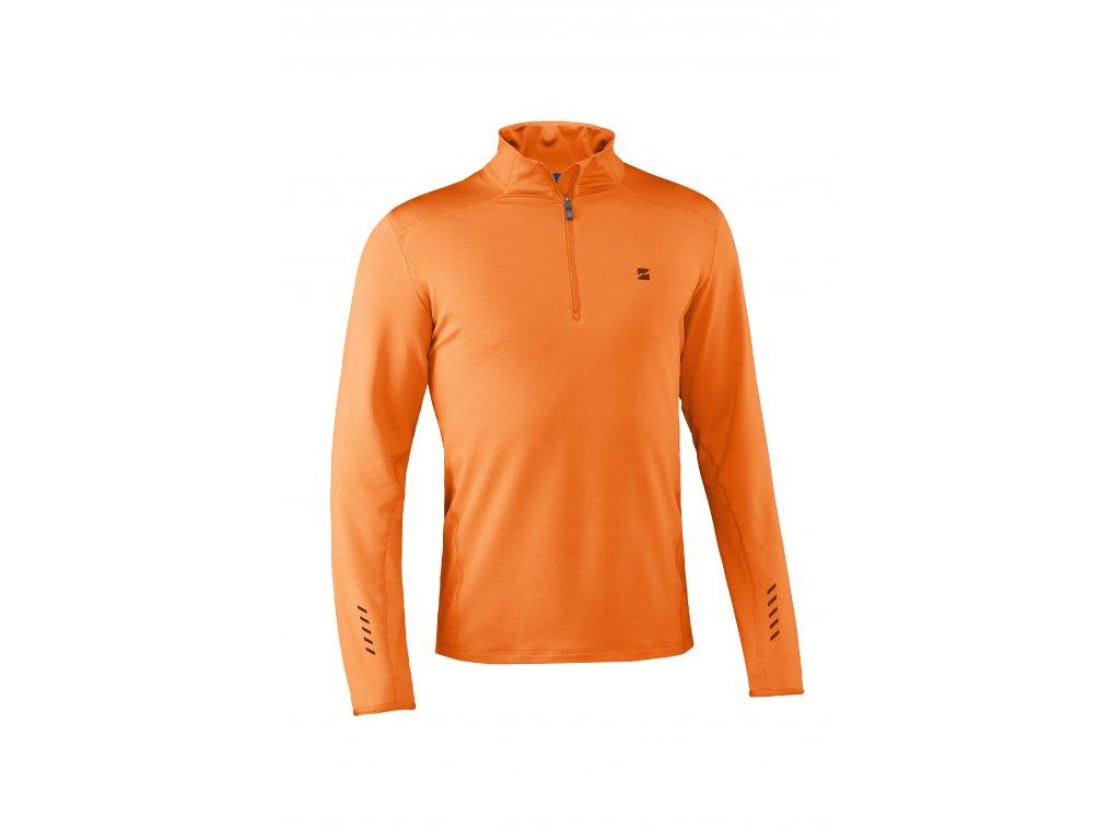 Pánský rolák Mountain Force GRID SHIRT, orange