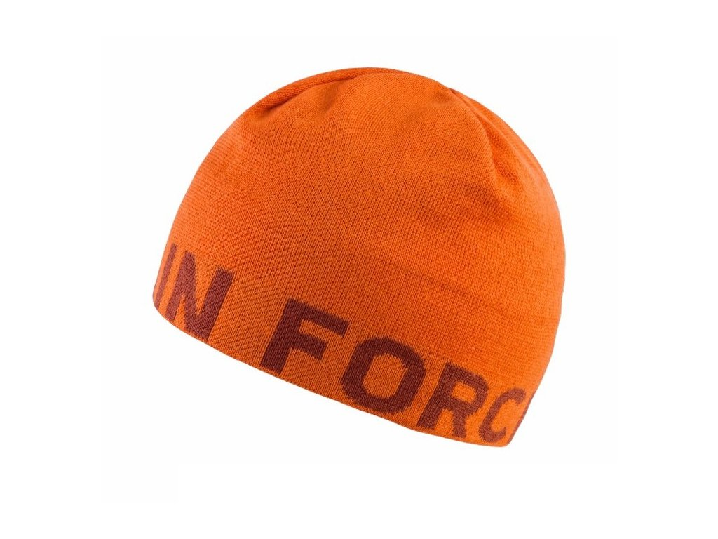Čepice Mountain Force SERIFA BEANIE, orange