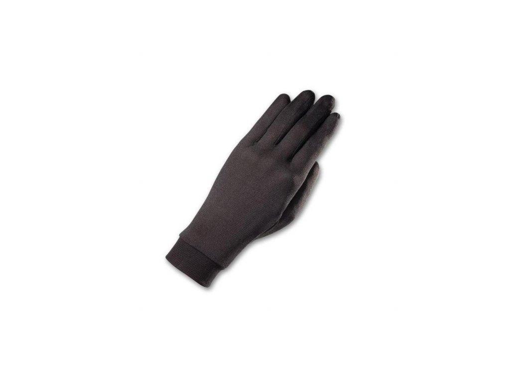 Rukavice Zanier HEDVÁBNÉ, black