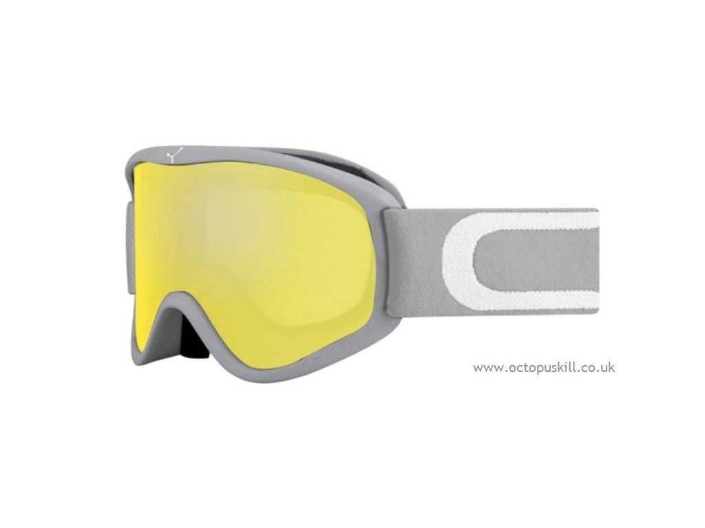 Brýle Cébé STRIKER M, soft grey, yellow flash mirror