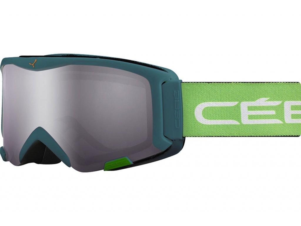 Brýle J Cébé SUPER BIONIC, green geometric, light rose flash mirror