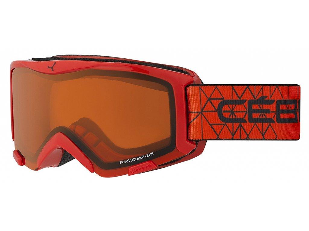 Brýle J Cébé BIONIC, red, orange