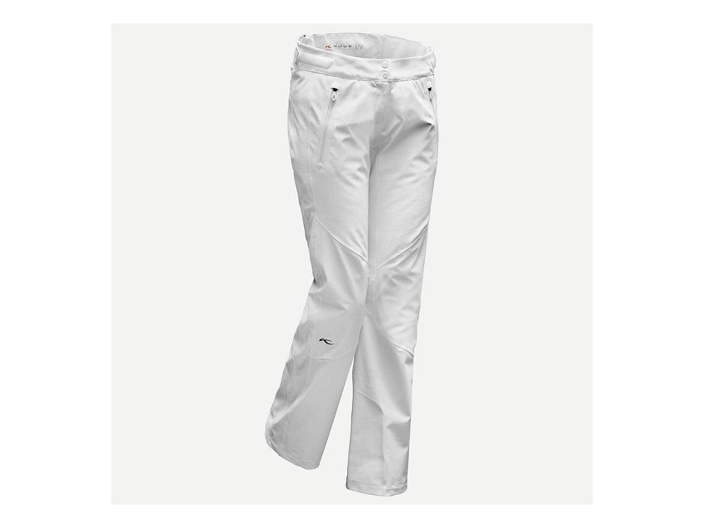 Kalhoty W Kjus FORMULA PANTS, white
