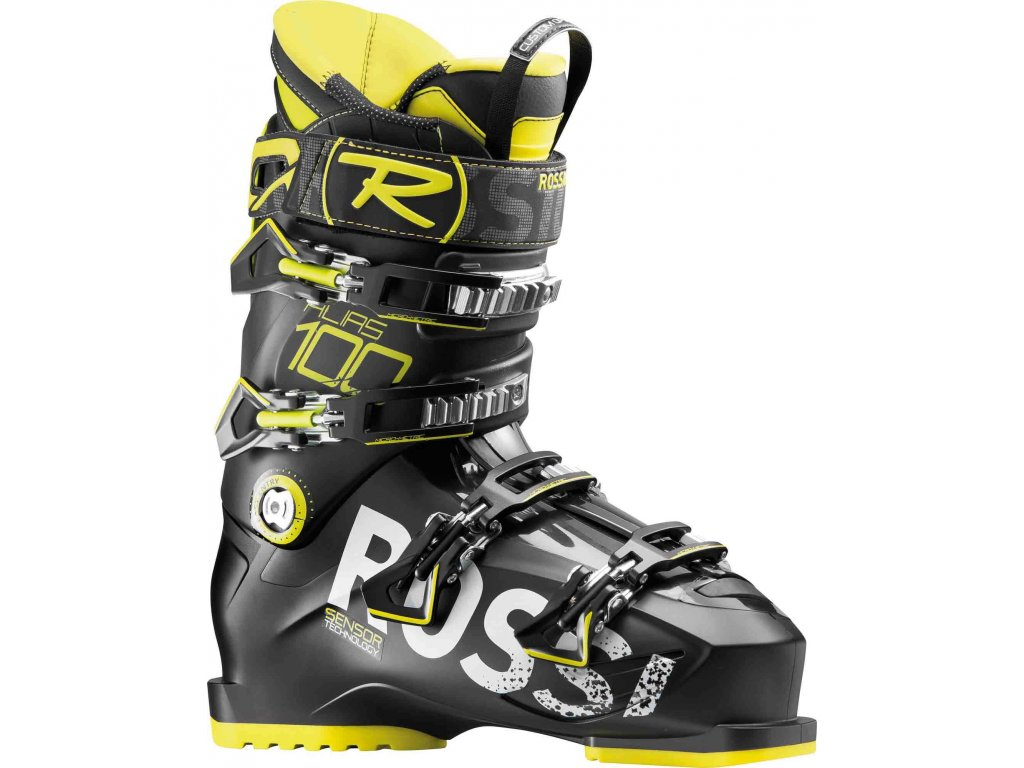 Obuv M Rossignol ALIAS 100, black yellow