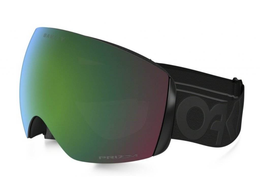 Brýle Oakley FLIGHT DECK, factory pilot blackout, prizm jade iridium