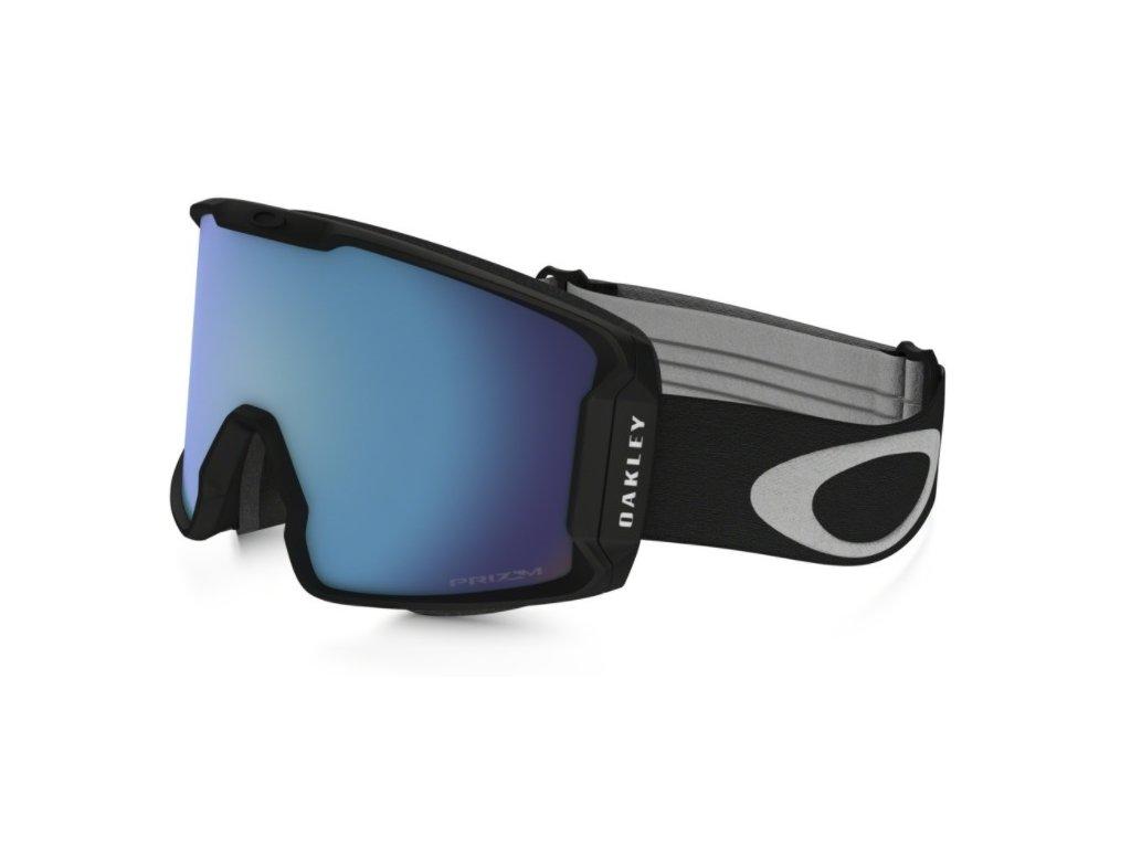 Brýle Oakley LINE MINER, matte black, prizm sapphire iridium 1