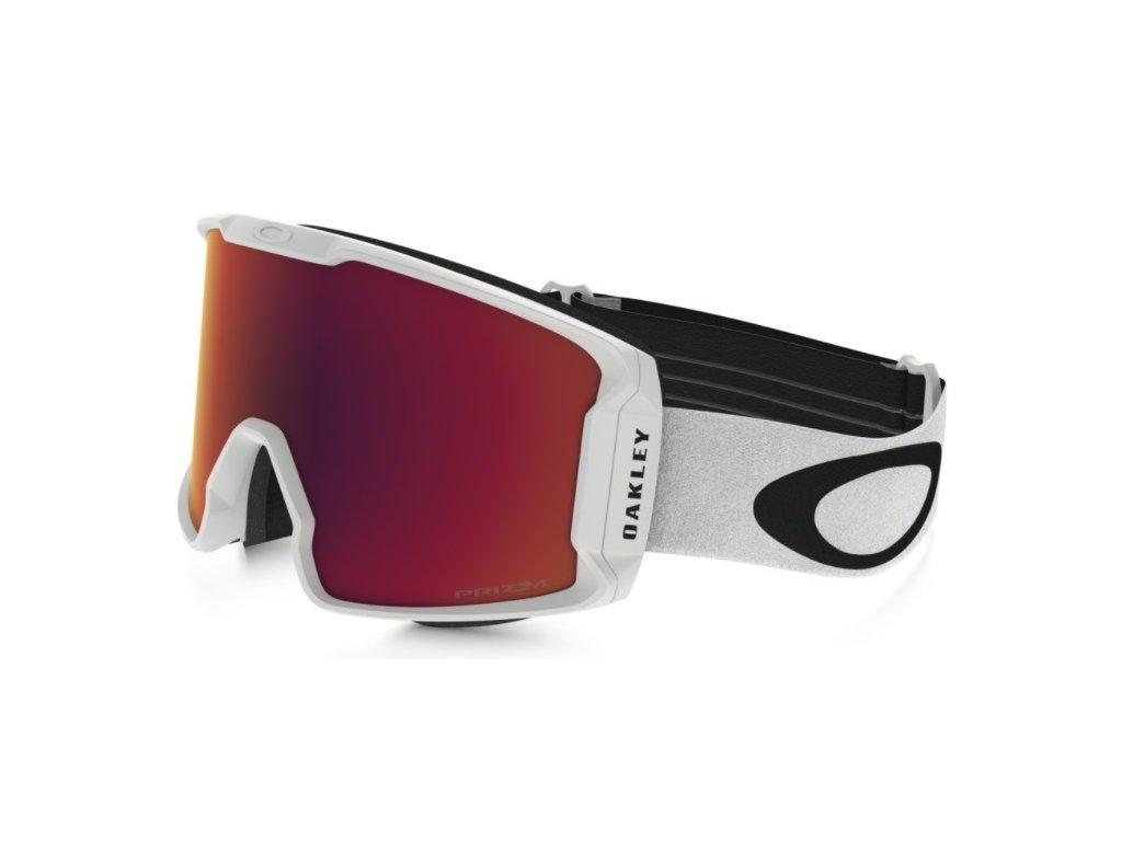 Brýle Oakley LINE MINER, matte white, prizm torch iridium 1