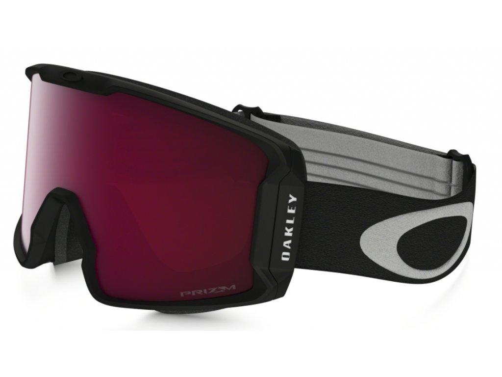 Brýle Oakley LINE MINER, prizm snow black iridium, prizm snow black