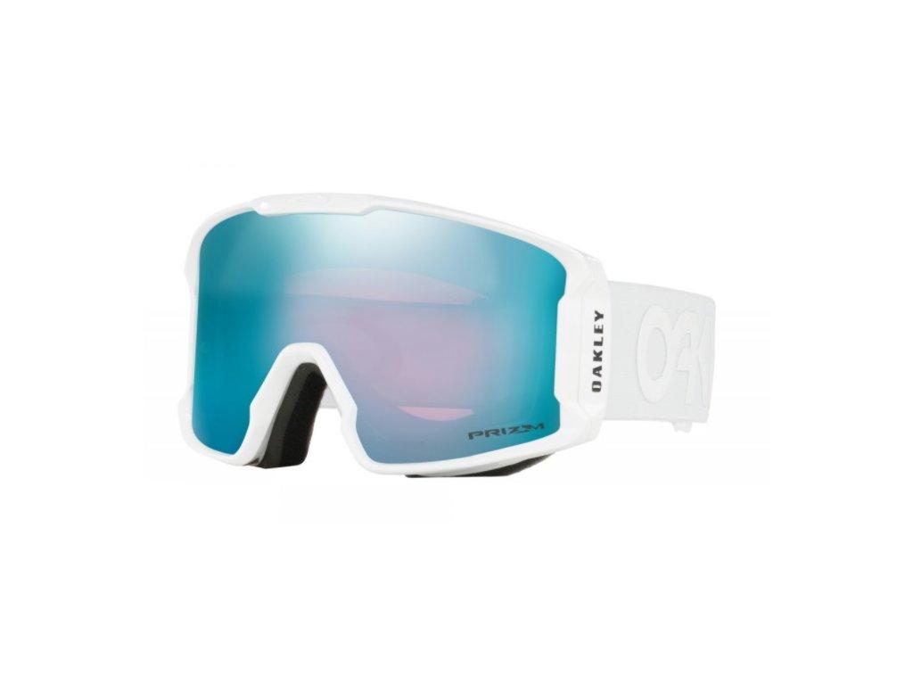 Brýle Oakley LINE MINER,factory pilot whiteout, prizm sapphire iridium 1