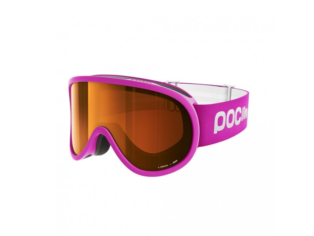 Dětské brýle POC POCITO RETINA, fluorescent pink