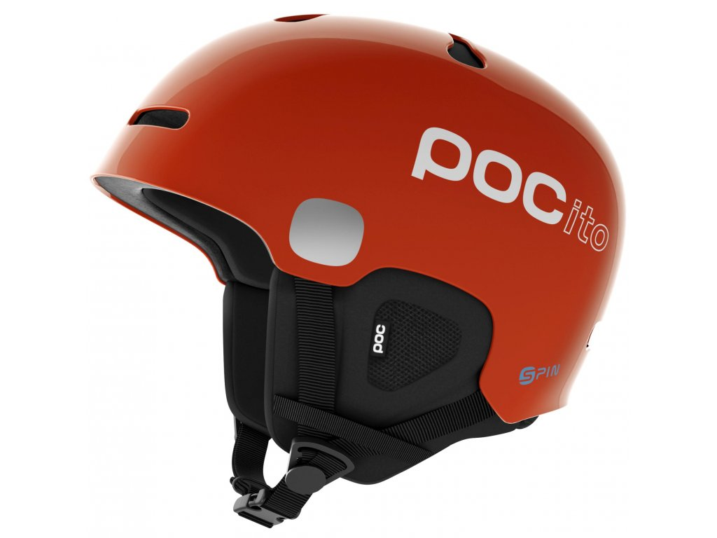 Helma POC POCITO AURIC CUT SPIN, fluorescent orange