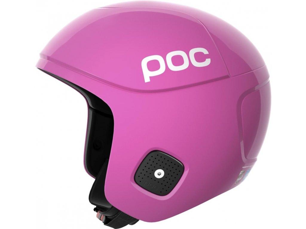 Helma POC SKULL ORBIC X SPIN, actinium pink
