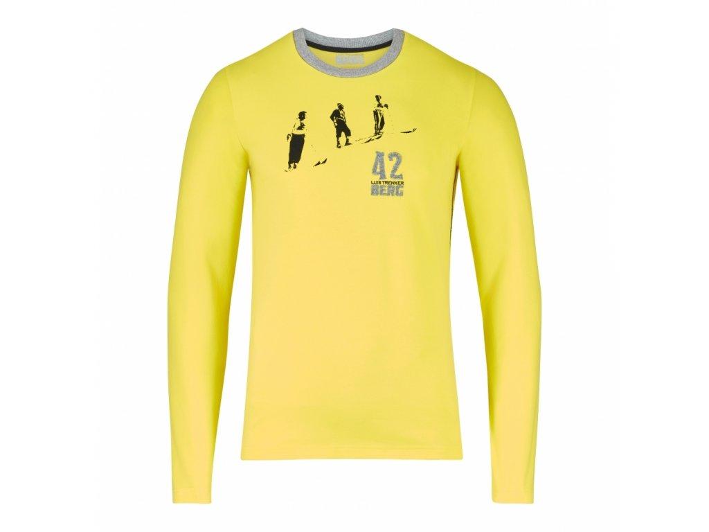 Pánské triko Luis Trenker Berg JAFET, gelb