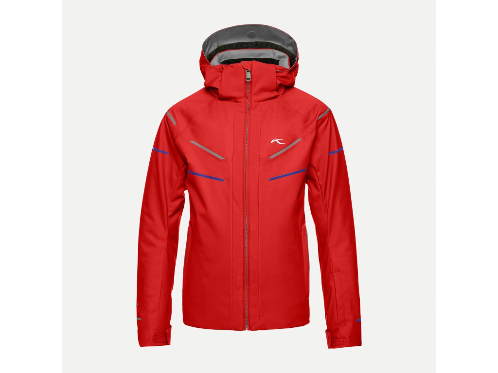 Bunda Kjus BOYS FORMULA DLX JACKET, scarlet racing