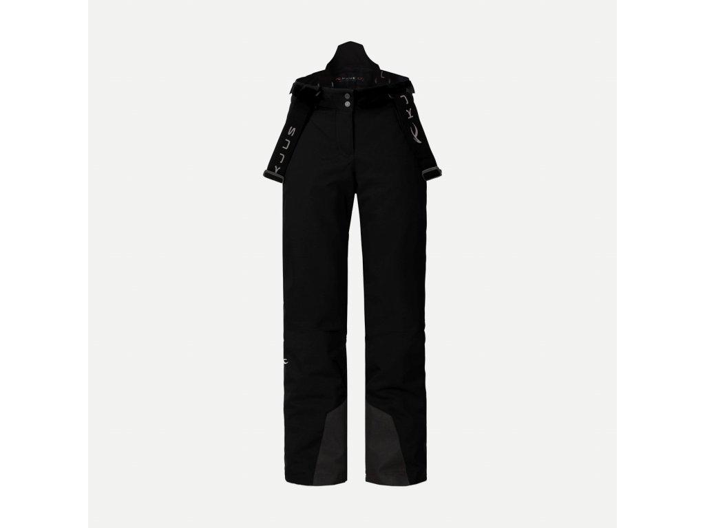 Kalhoty Kjus GIRLS SILICA PANTS, black