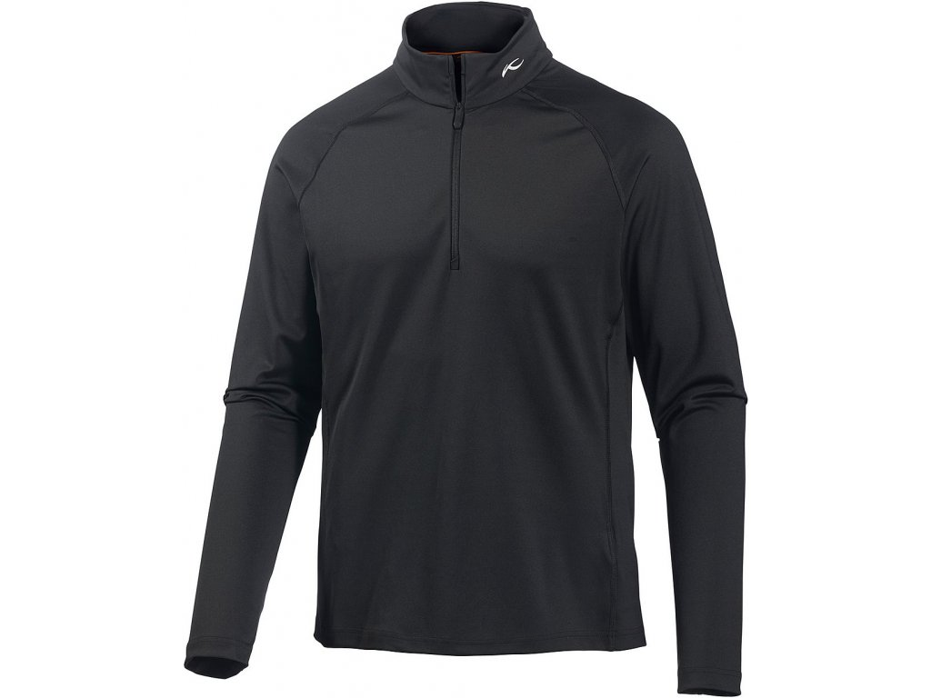 Rolák Kjus SECOND SKIN HALFZIP, black