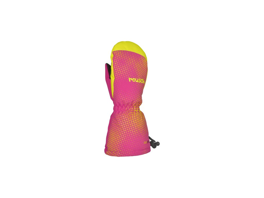 Rukavice Reusch MAXI R TEX® XT MITTEN, fuchsia purple lime green
