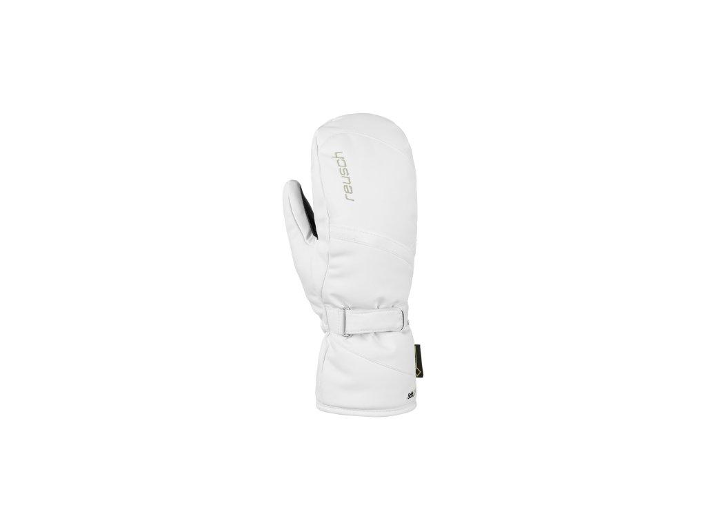 Rukavice Reusch ALEXA GTX® MITTEN, white
