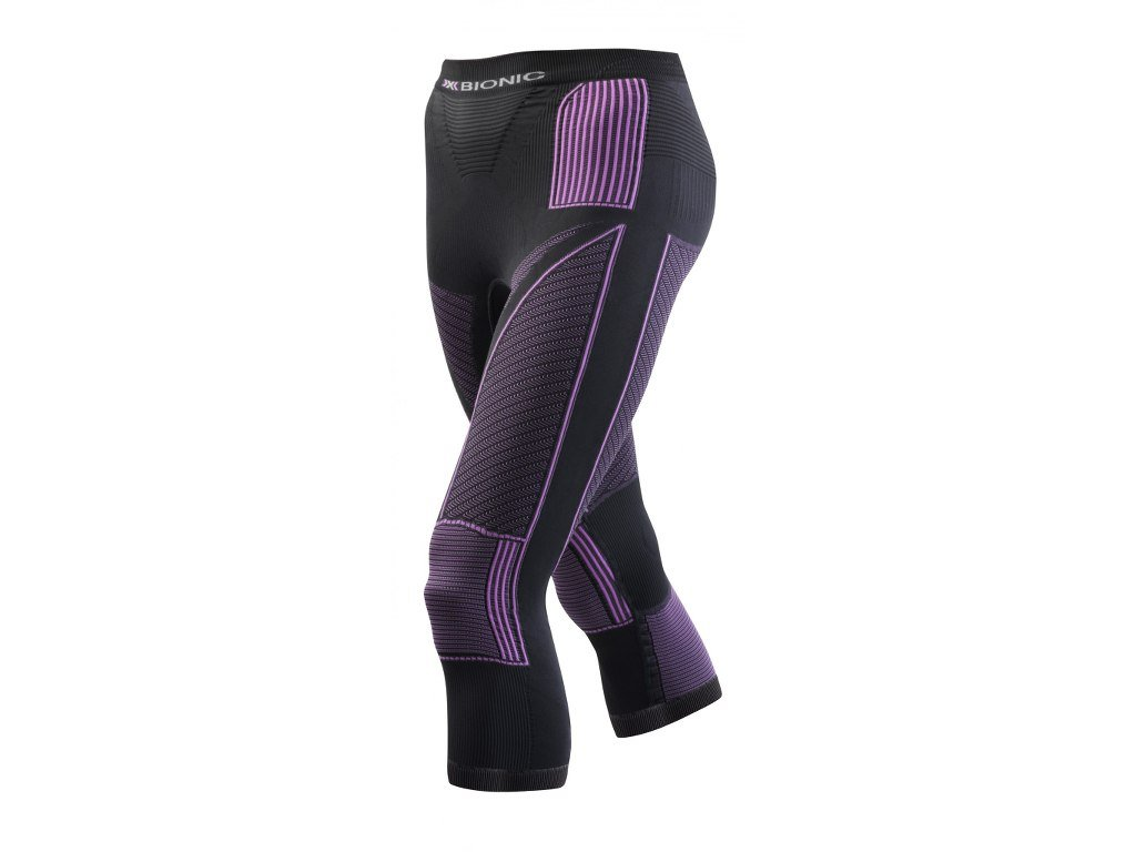 3 4 X Bionic Accumulator EVO PANT MEDIUM charcoal fuchsia