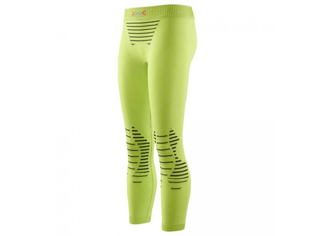 X Bionic JUNIOR PANTS LONG lime green black
