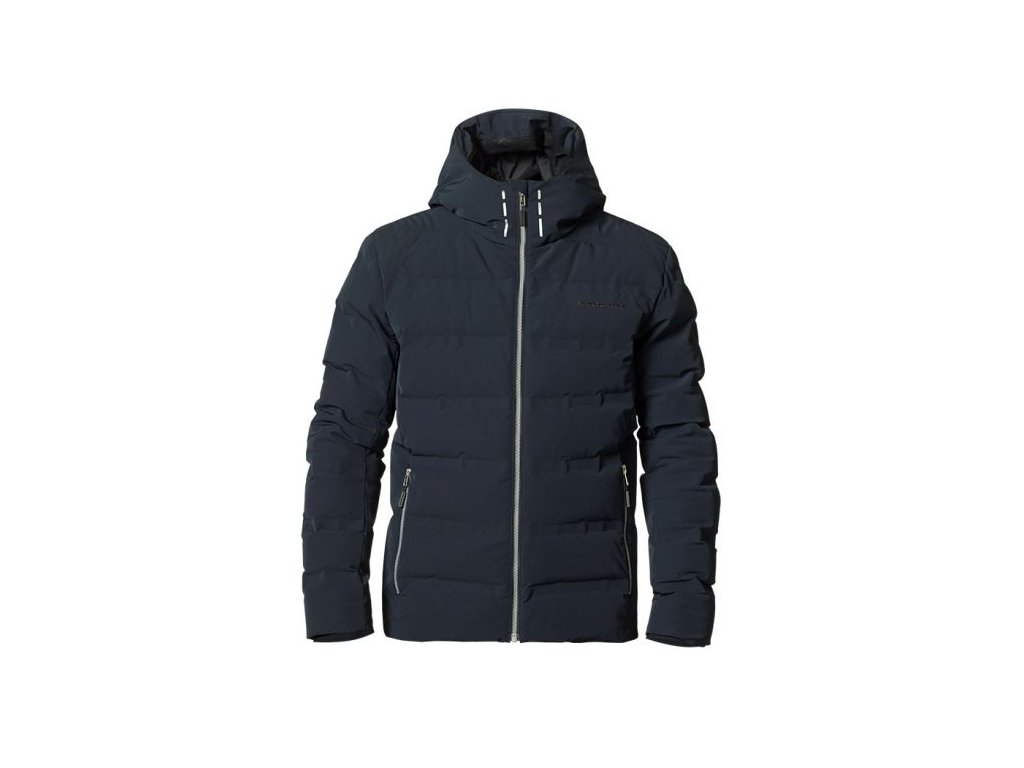 Bunda Stöckli WINTER DOWN JACKET, black