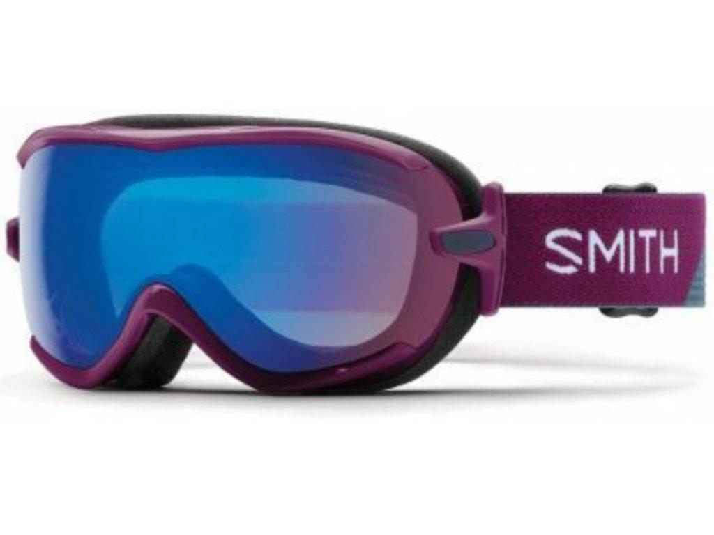 Brýle Smith VIRTUE SPH, grape split, chromapop storm rose flash