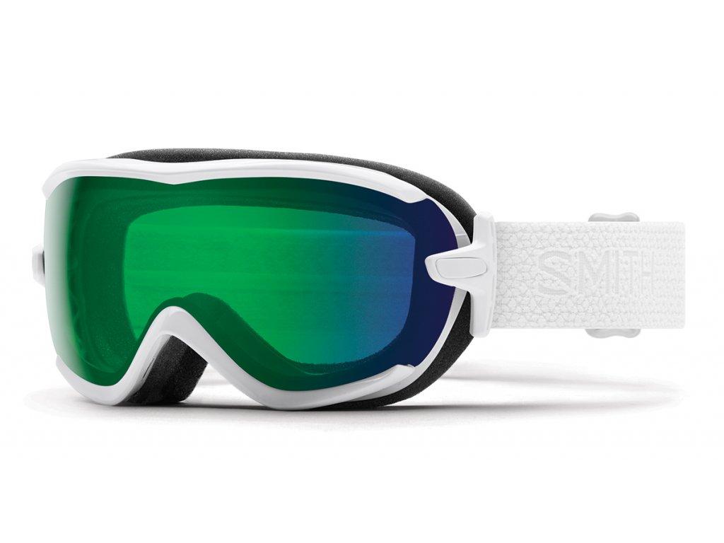 Brýle Smith VIRTUE SPH, white mosaic, chromapop everyday green mirror