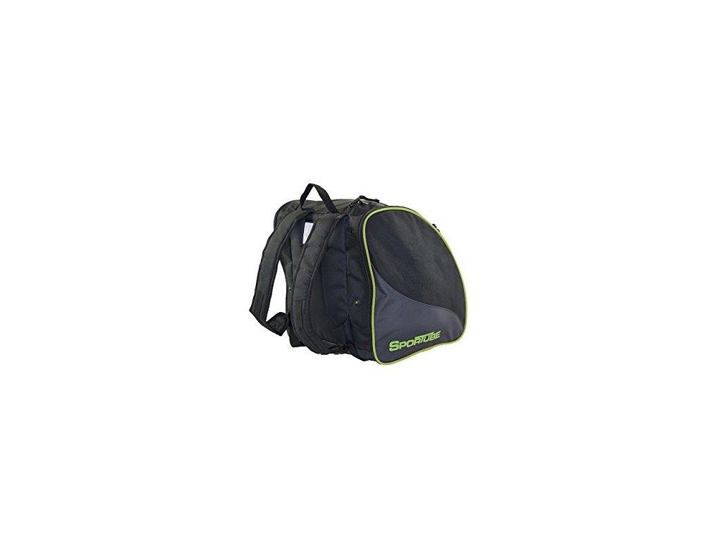 Vak na boty Sportube FREESTYLER JR BOOT BAG, black green
