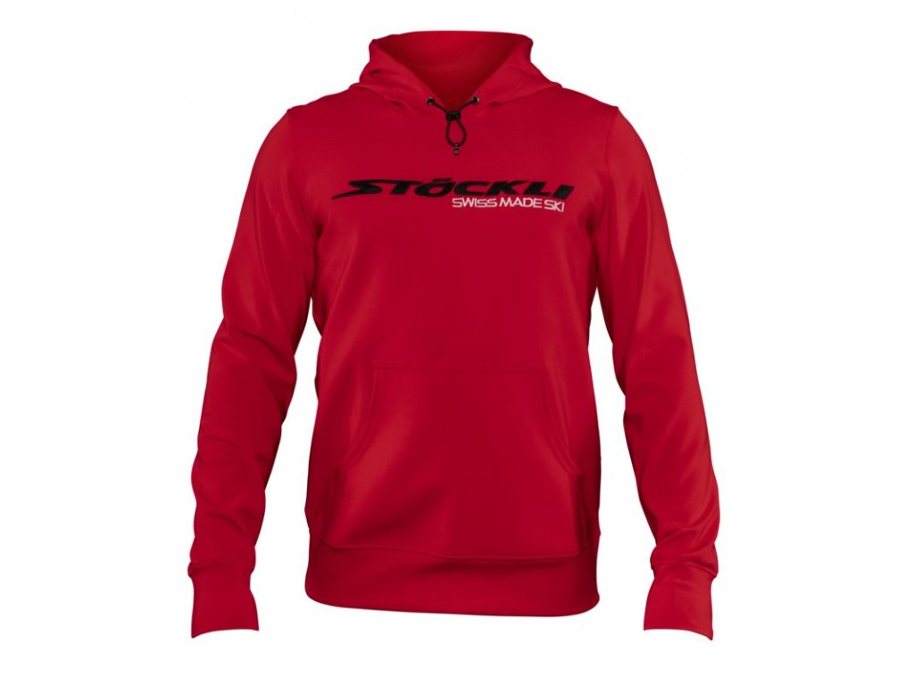 Mikina Stöckli HOODY PULLOVER MEN, red