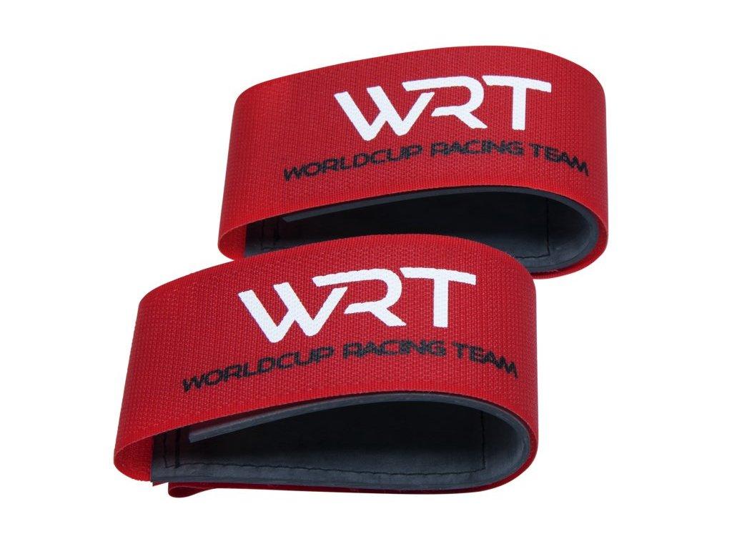 Pásky na lyže Stöckli WRT SKI CLIP RUBBER, red
