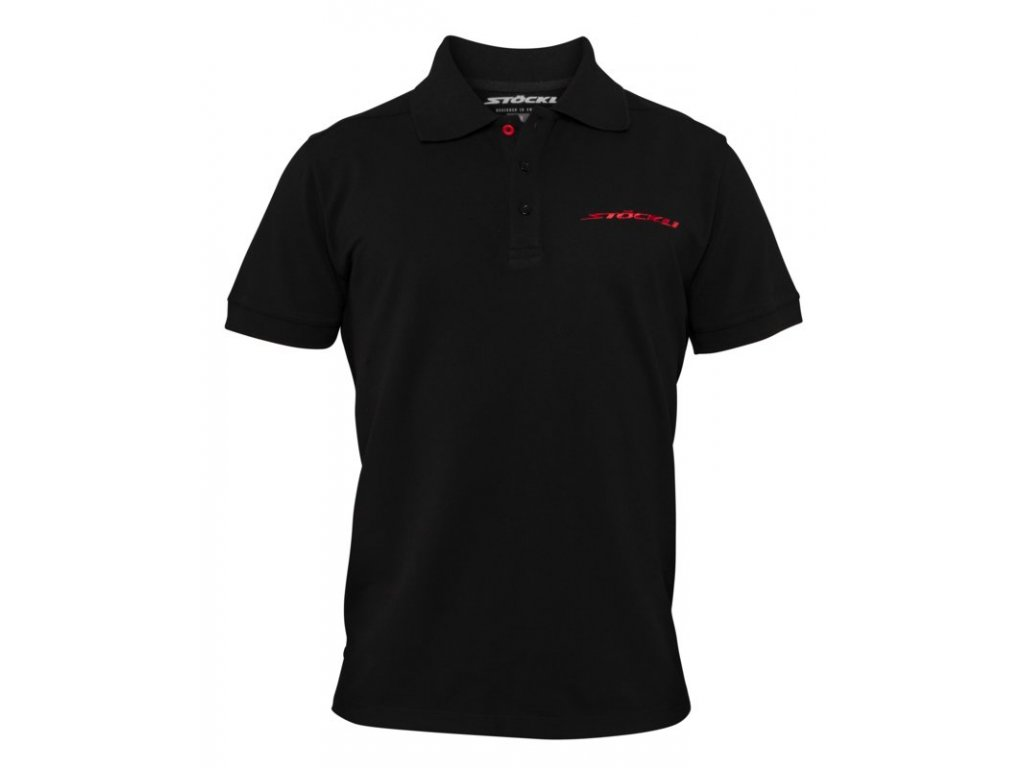Triko Stöckli POLO MEN, black