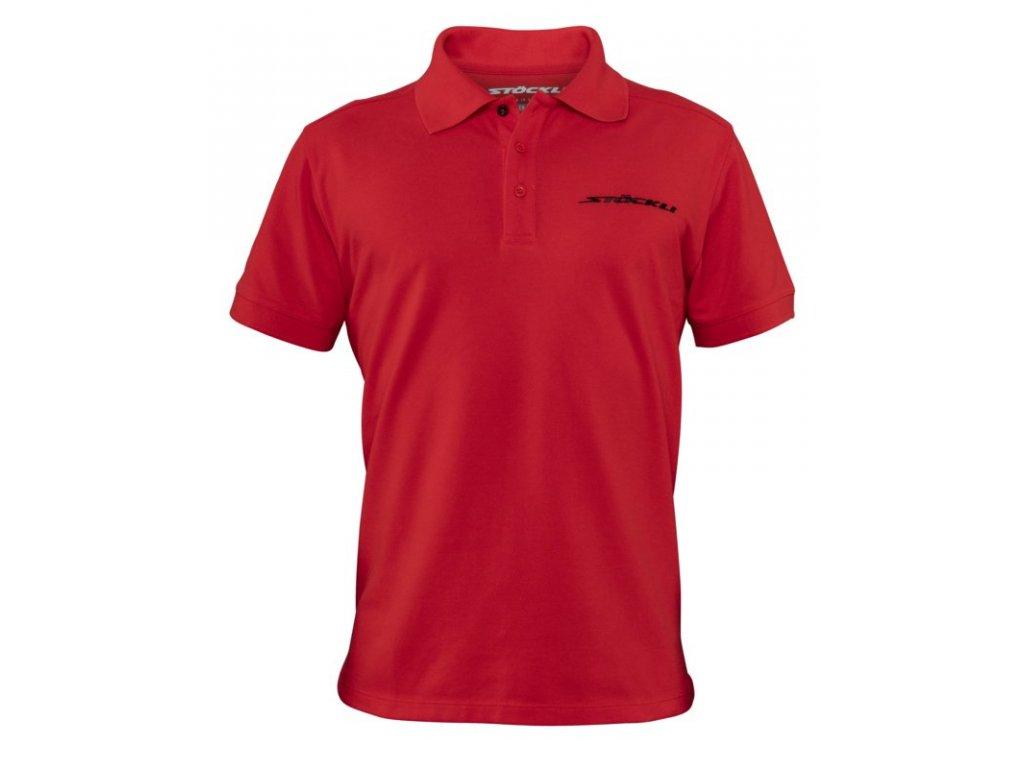 Pánské triko Stöckli POLO MEN, red