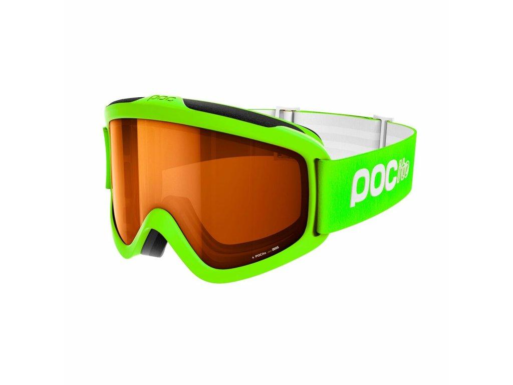 Brýle POC POCITO IRIS, fluorescent yellow/green