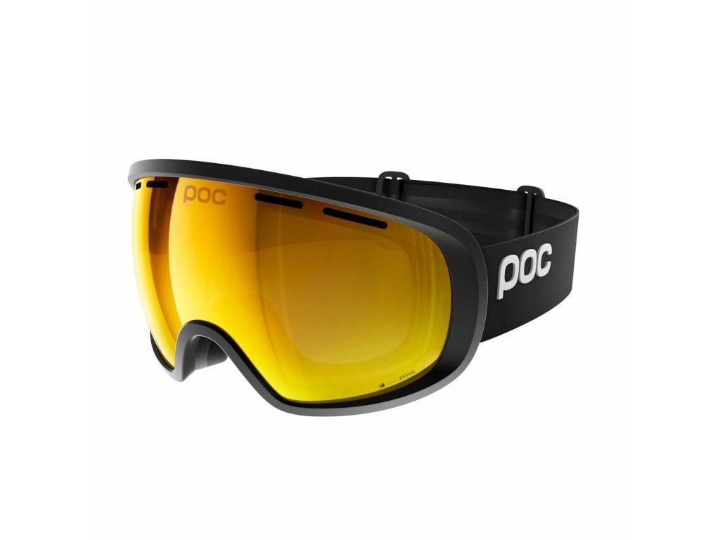 Brýle POC FOVEA CLARITY, uranium black/spektris orange