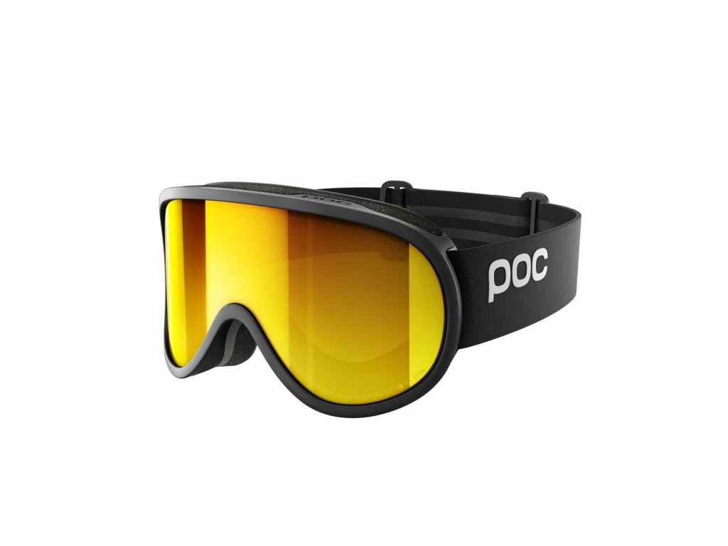 Brýle POC RETINA BIG CLARITY, uranium black/spektris orange