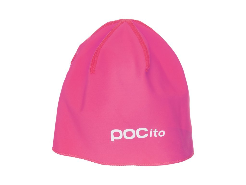 Čepice POCito FLEECE BEANIE, fluorescent orange