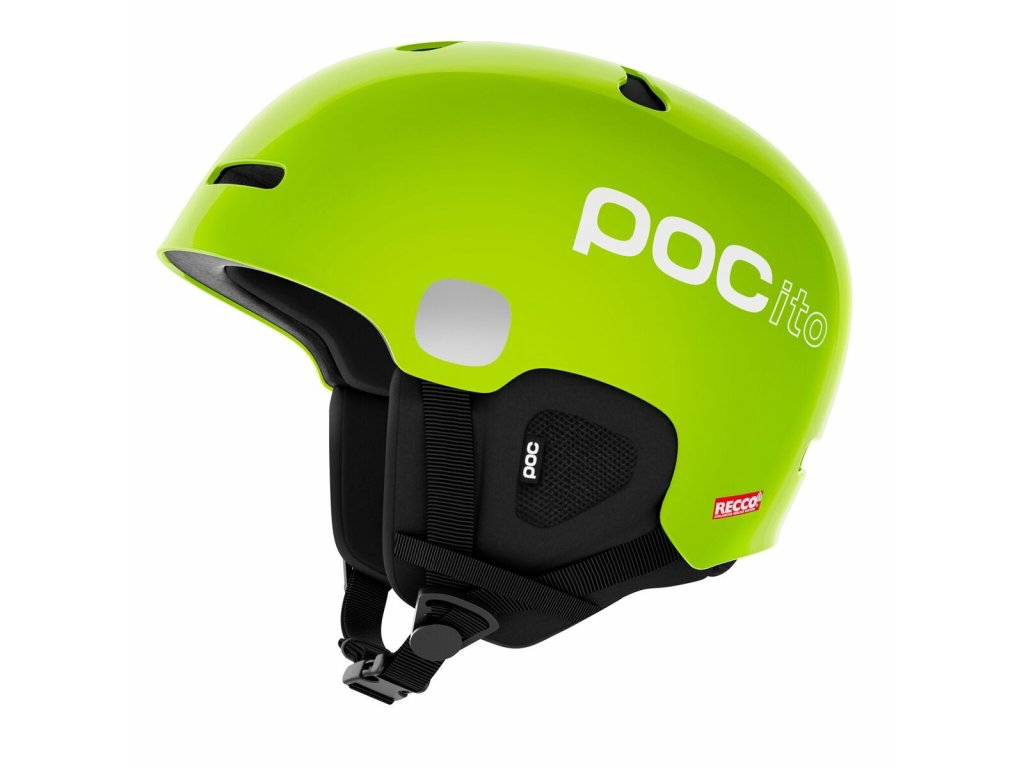 Helma POC POCITO AURIC CUT SPIN, fluorescent lime green