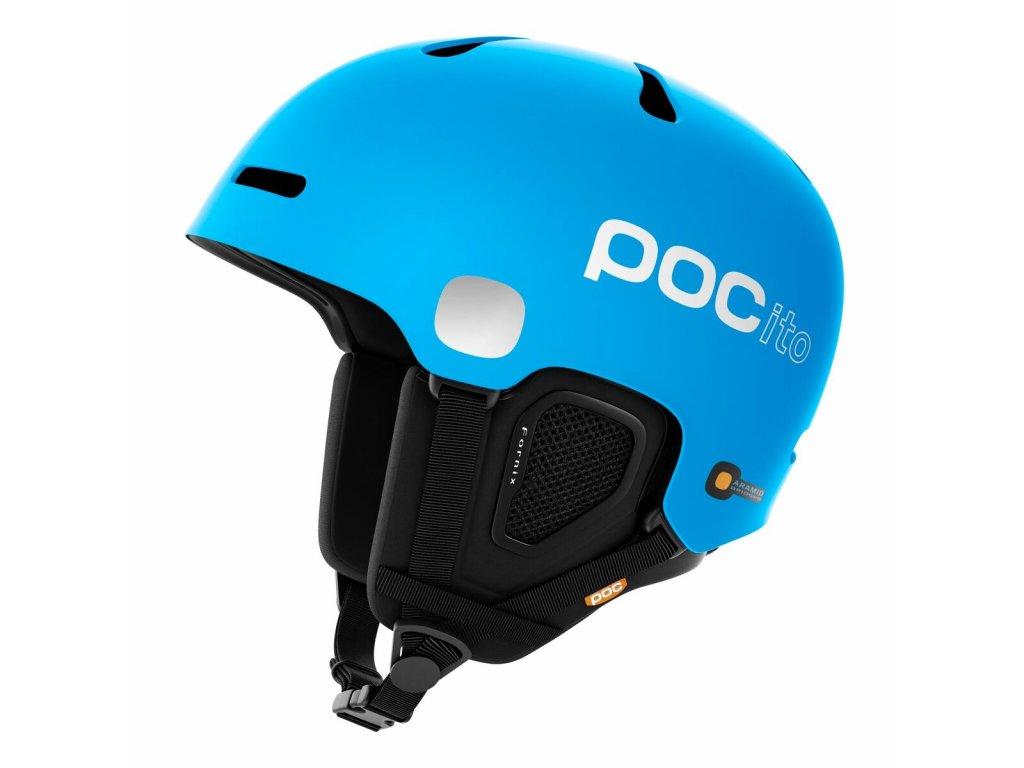 Dětská helma POC POCITO FORNIX, fluorescent blue