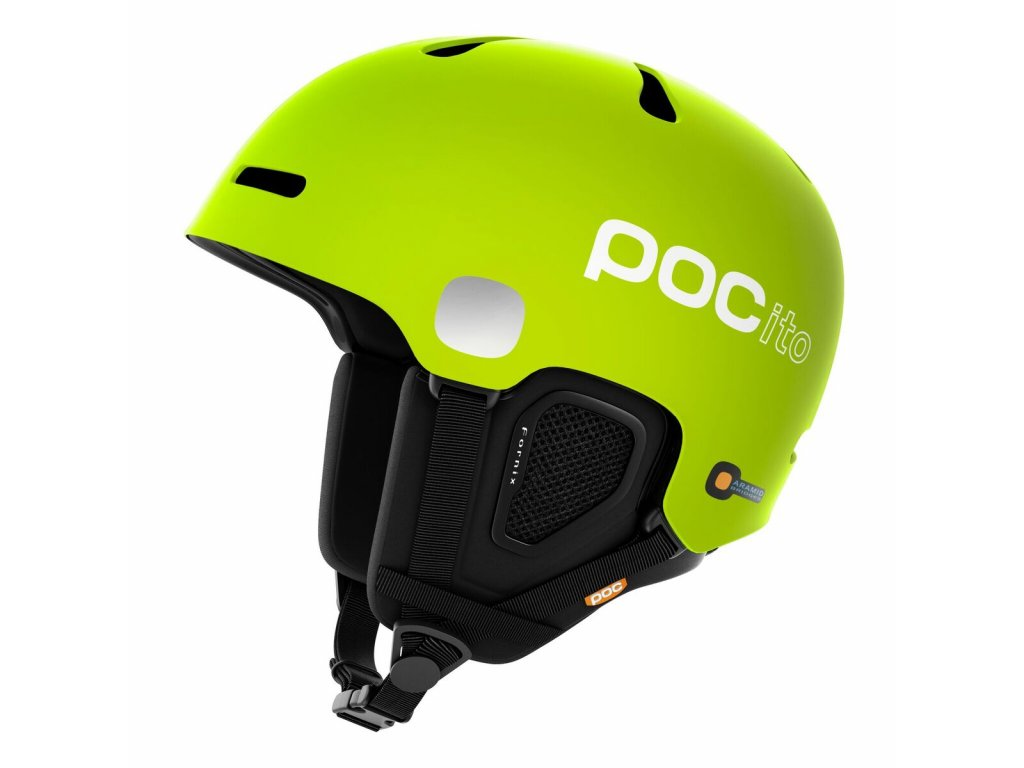 Helma POC POCITO FORNIX, fluorescent lime green