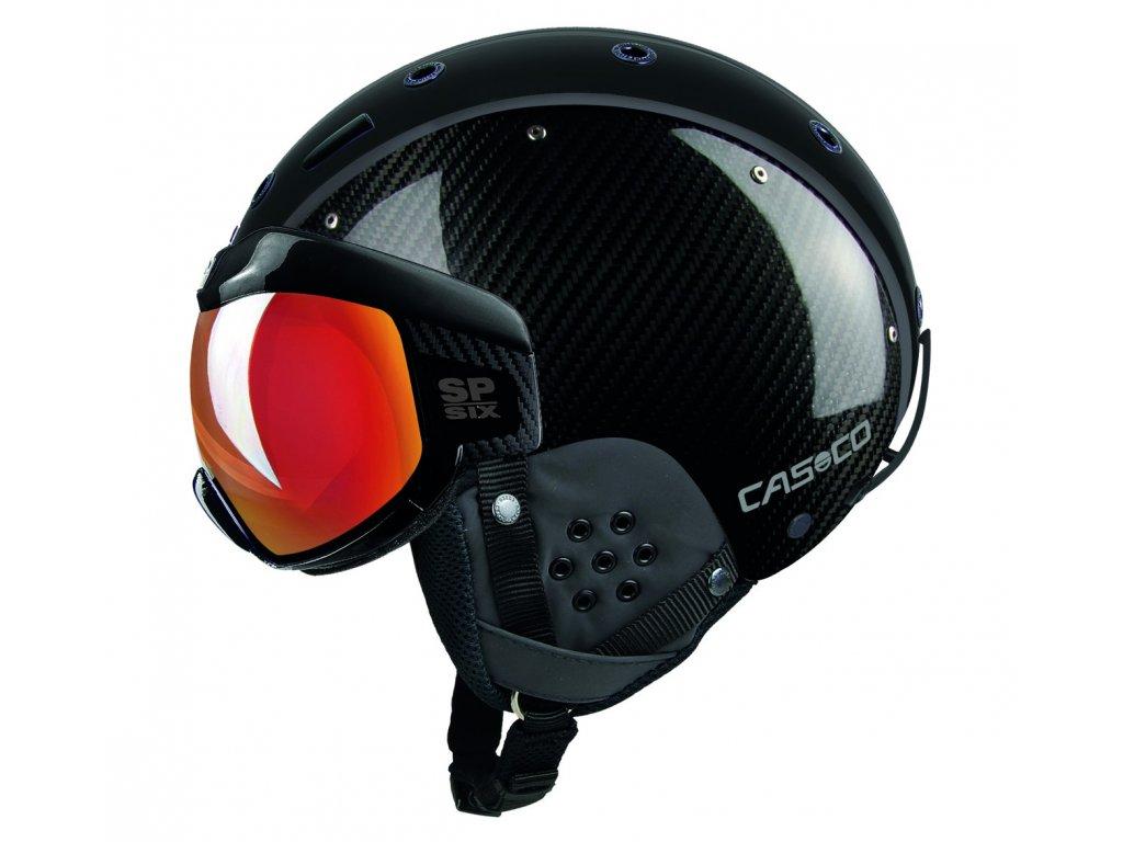Helma Casco SP-6 VISOR LIMITED, carbon black/vautron multilayer
