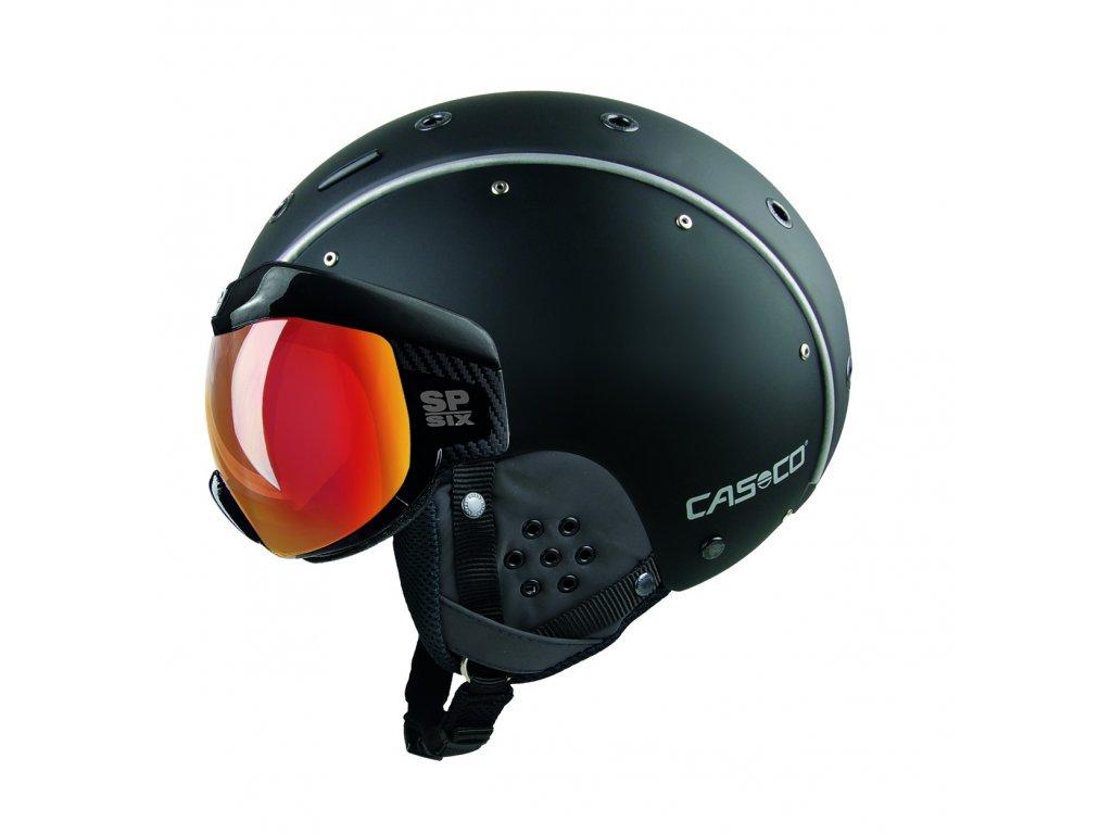 Helma Casco SP 6 VISOR black