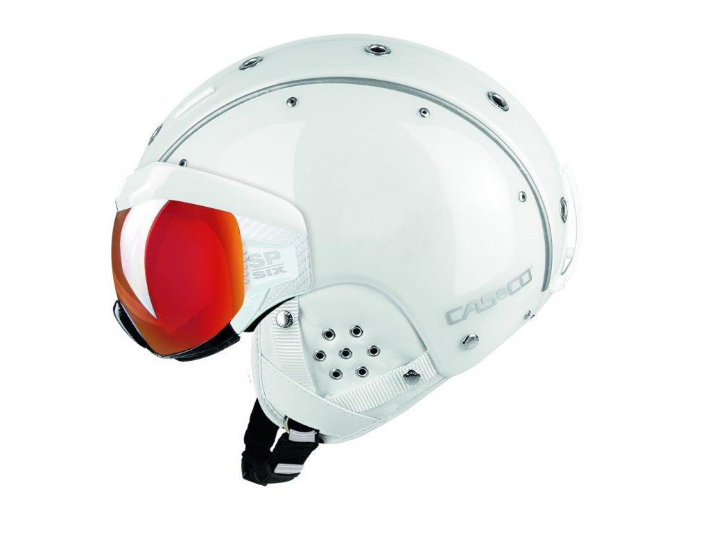 Helma Casco SP 6 VISOR white