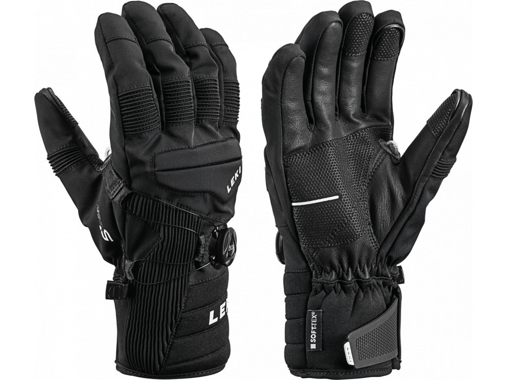 Pánské rukavice Leki PROGRESSIVE TUNE S BOA® MF TOUCH, black