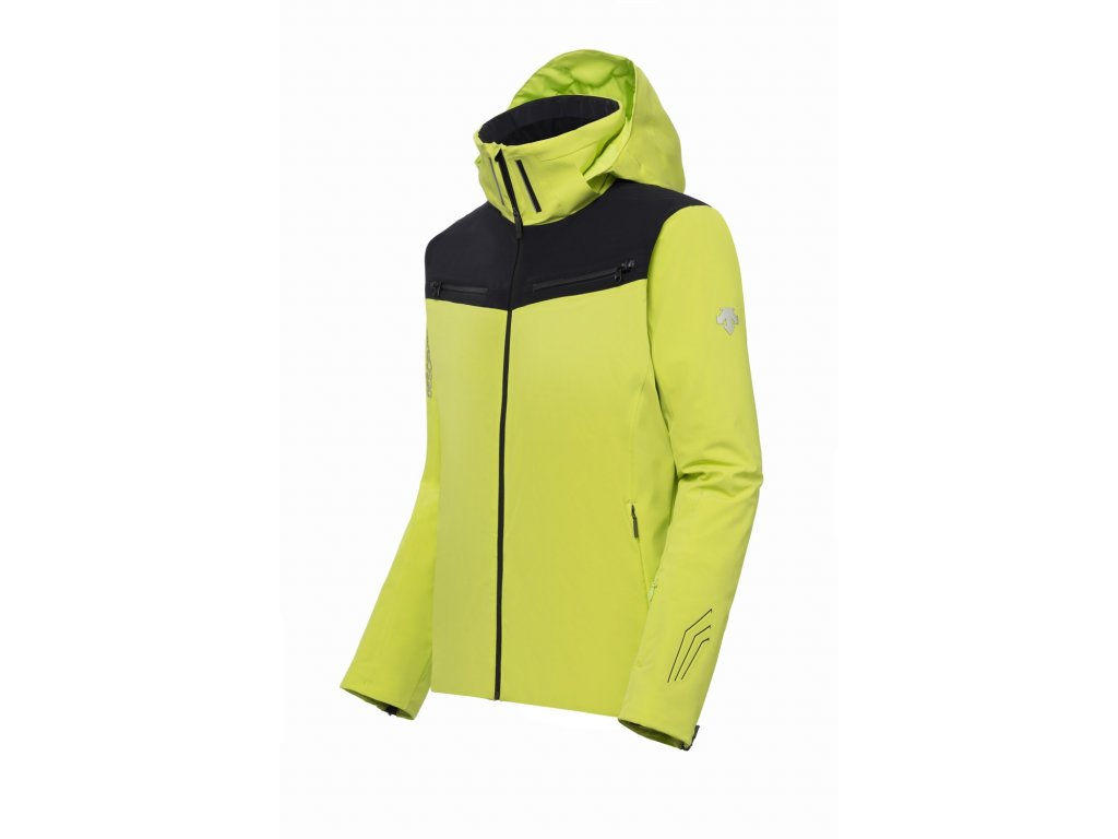 Bunda Descente SWISS SKI JACKET lime 1
