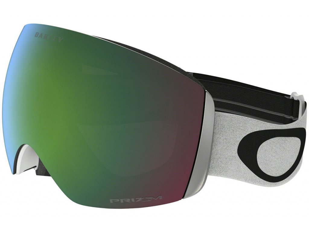 Brýle Oakley FLIGHT DECK, matte white, prizm jade iridium 01