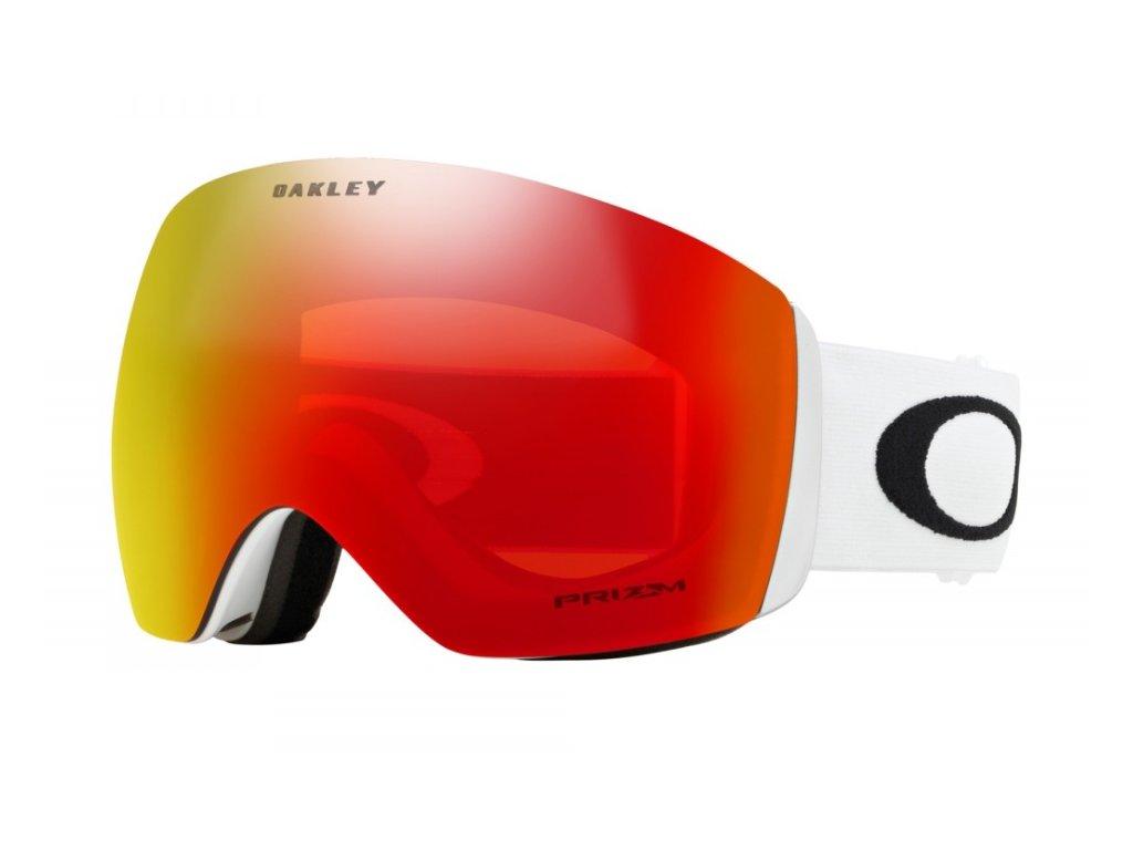 Brýle Oakley FLIGHT DECK XM, matte white, prizm torch iridium 01