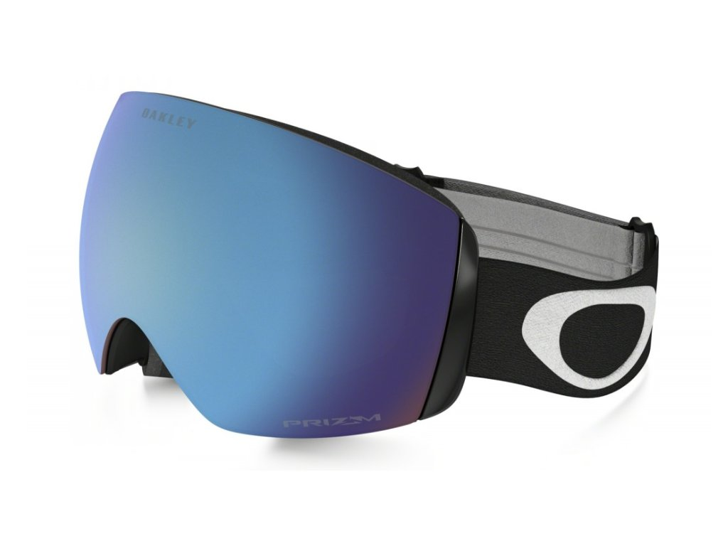 Brýle Oakley FLIGHT DECK XM, matte black, prizm sapphire iridium 01