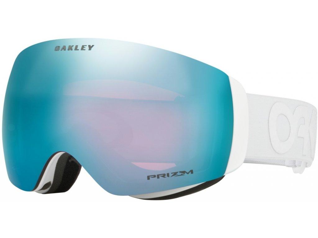 Brýle Oakley FLIGHT DECK XM, factory pilot whiteout, prizm sapphire iridium 01