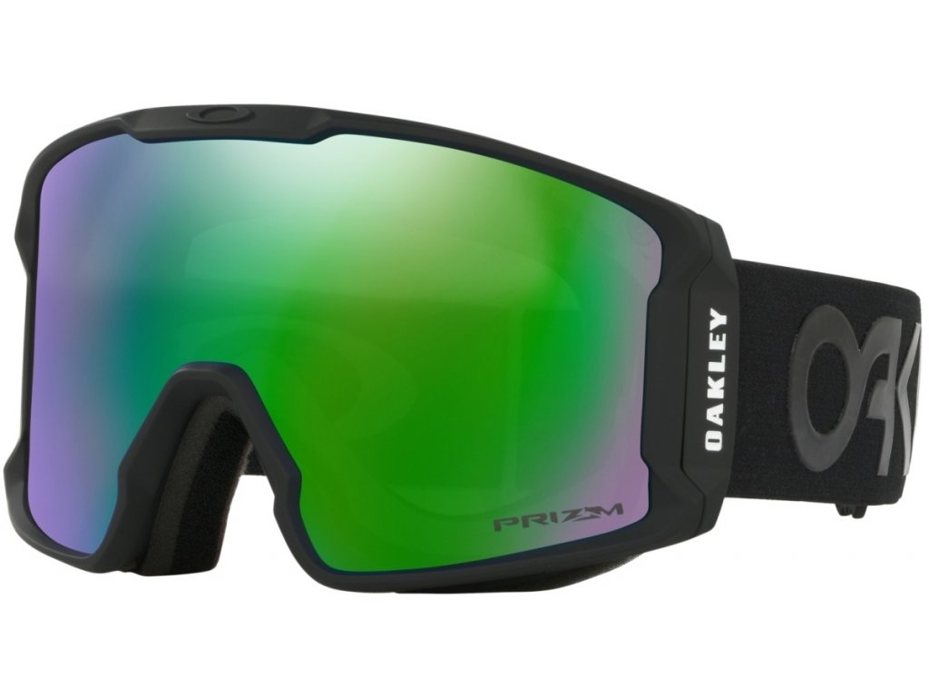 Brýle Oakley LINE MINER, factory pilot blackout, prizm jade iridium 01